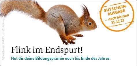Eichhorn Bildungsprämie nur noch bis 31.12.21